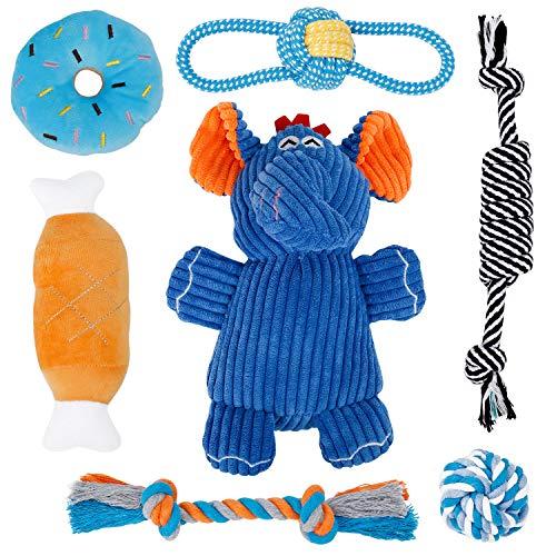 Toozey Welpenspielzeug Hunde Spielsachen - 7 STK...