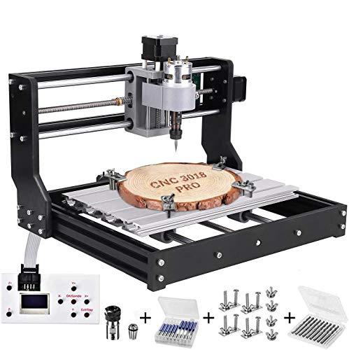3018 Pro CNC Fräsmaschine Laser Engraving...
