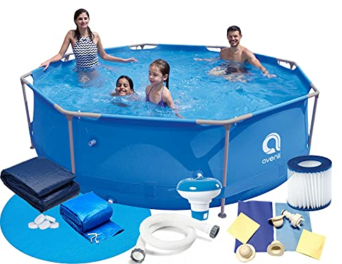 Gartenpool 360x76 cm 12 FT Mega Set 16in1! Pool...