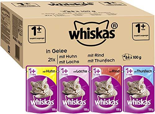 Whiskas 1 + Katzenfutter – Gemischte Auswahl in...