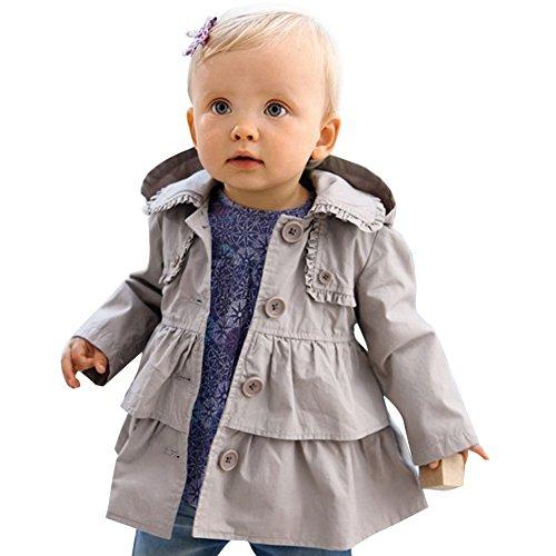iEFiEL Baby-Mädchen Jacke, Babykleidung,...