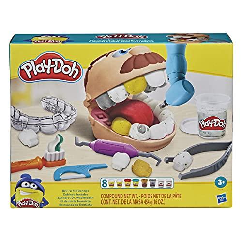 Play-Doh Zahnarzt Dr. Wackelzahn, Spielzeug für...