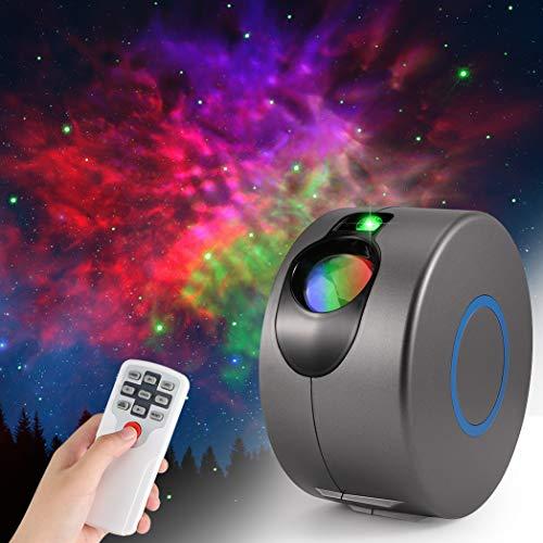 LED Galaxy Sternenhimmel Projektor, ZOTO 3D...