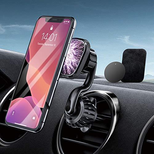 Handyhalterung Auto Magnet Lüftung RTAKO 6 Starke...