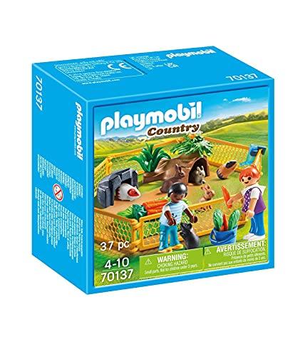 PLAYMOBIL Country 70137 Kleintiere im Freigehege,...