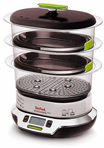 Tefal VS4003 Dampfgarer VitaCuisine Compact, ohne...