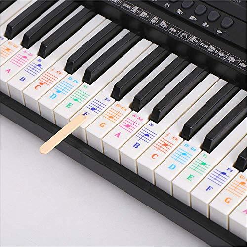 Klaviertastatur-Aufkleber für...