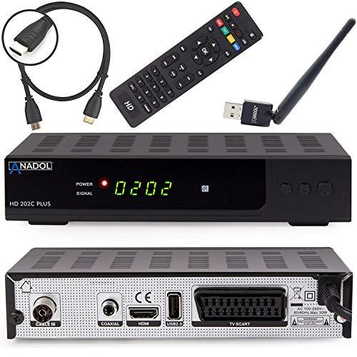 Anadol HD 202c Plus digitaler Full HD 1080p...