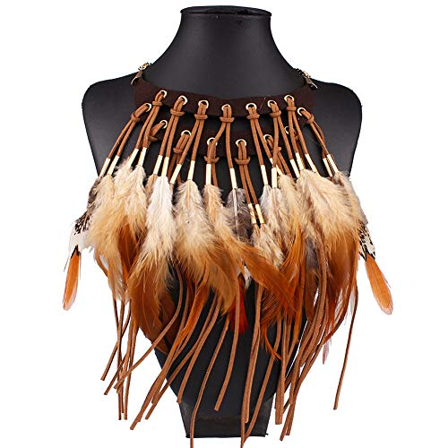 Amorar Halskette Indianer, Frauen Choker Schmuck...