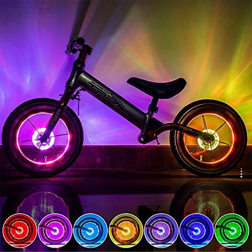KUWAN LED Kinder Roller Licht Fahrradlicht USB...