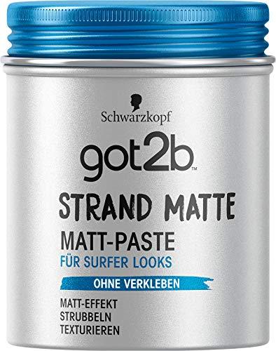 got2b Schwarzkopf Strandmatte Haarstyling Paste...