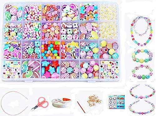 vytung 24 Arten Bunte Baby Stringing Perlen Spiel...