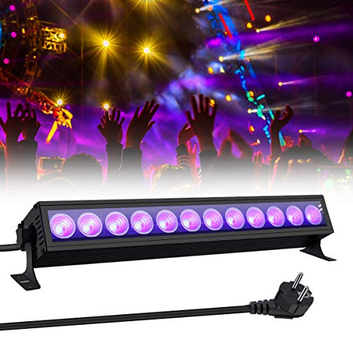 UV Beleuchtung, GLIME Schwarzlicht UV LED...