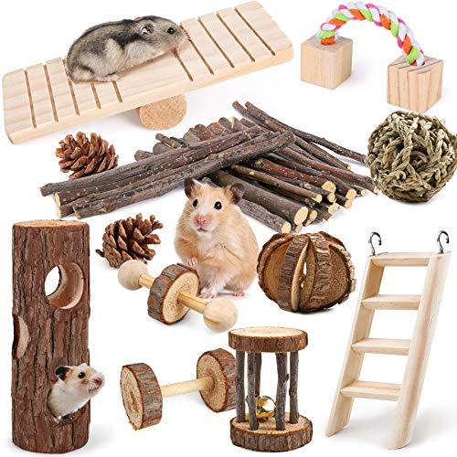 Hamster Spielzeug 12 Stück Meerschweinchen...