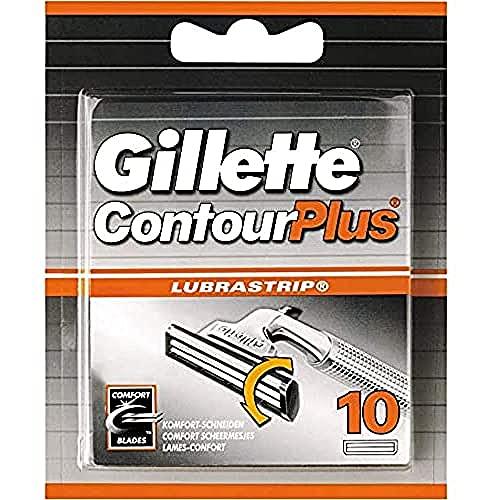 Gillette ContourPlus Rasierklingen mit...