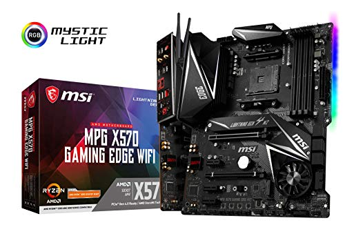 MSI Mpg X570 Gaming Edge WiFi AMD AM4 DDR4 m.2 USB...