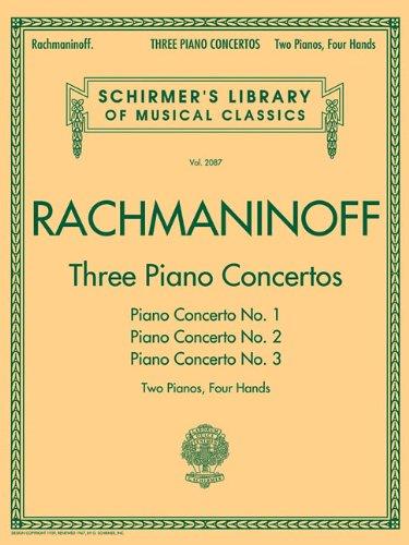 Three Piano Concertos - Nos. 1, 2 And 3: Noten,...