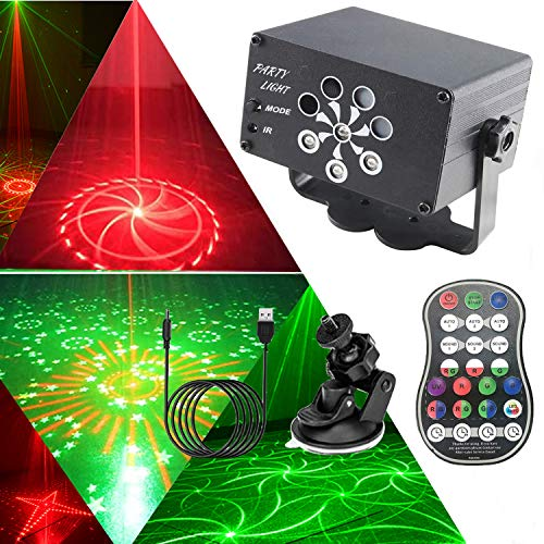 DJ Disco Lichter, USB Party Bühnenbeleuchtung,...