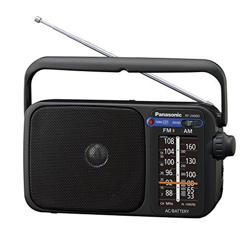 Panasonic RF-2400DEG-K Tragbares Radio mit Griff,...