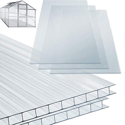 KESSER® 14x Polycarbonat Hohlkammerstegplatten...