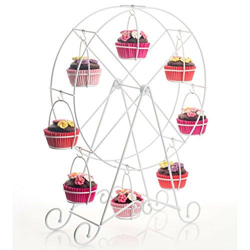 Melidoo 8er Muffin Riesenrad Karusell Ständer...