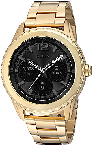 GUESS Cassidy Unisex Touch AMOLED Gold Smartwatch