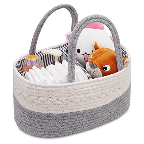Baby-Wickeltasche, Aufbewahrungskorb für Babys,...