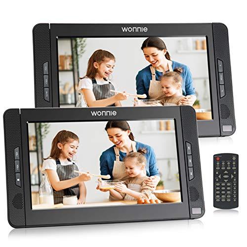 WONNIE 10.1 Zoll Auto DVD Player 2 Monitore Auto...