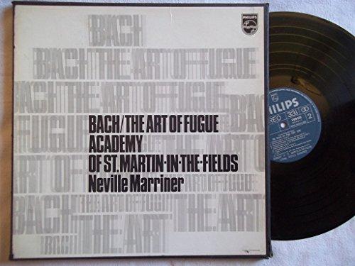 6747 172 Bach The Art of Fugue Academy St Martin...