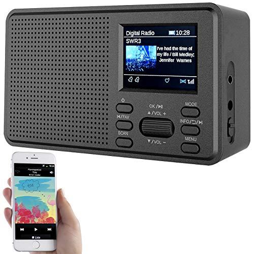 VR-Radio DAB Radios: Mobiles Digitalradio mit DAB+...