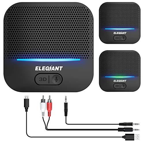 ELEGIANT Bluetooth Empfänger 5.0 Adapter Audio...