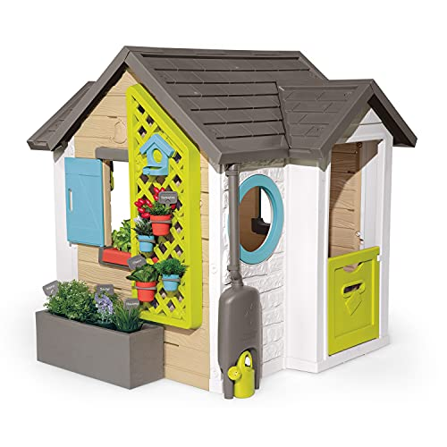 Smoby 810405 - Gartenhaus - Spielhaus für drinnen...
