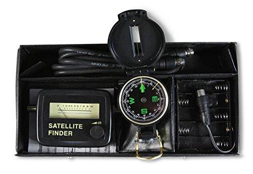 SAT-Finder Profiset mit Kompass, Kabel,...