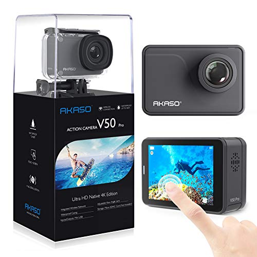 AKASO Action Cam/4K/30fps 20MP Action Camera mit...