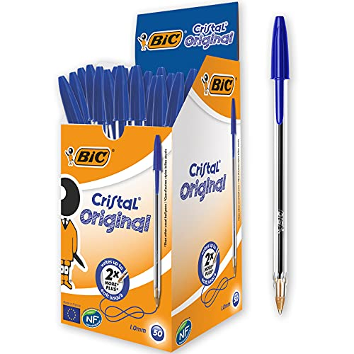 BIC Kugelschreiber Cristal Original, in Blau,...
