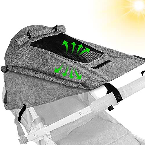 Sonnensegel Kinderwagen,Sonnenschutz für...