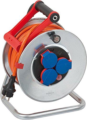 Brennenstuhl Garant S IP44 Kabeltrommel (25m Kabel...