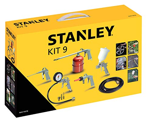 Stanley 1884 Multi-Druckluft-Zubehör Kit 9 mit...