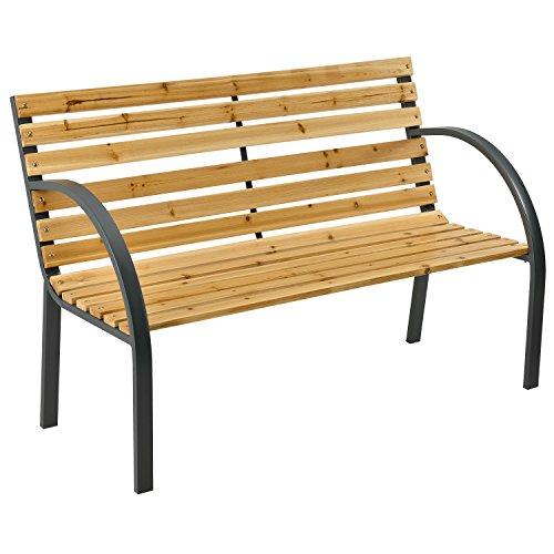 ArtLife Gartenbank Modena – 2-Sitzer Holzbank...