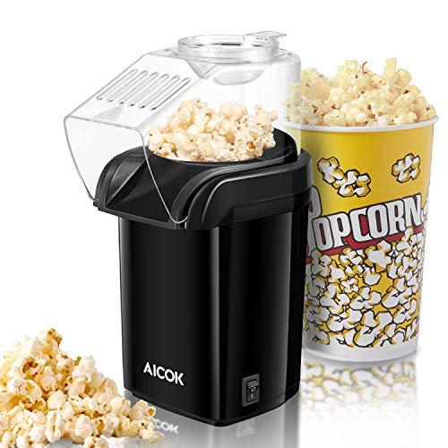 AICOK Popcornmaschine, Popcorn Maker Machine für...