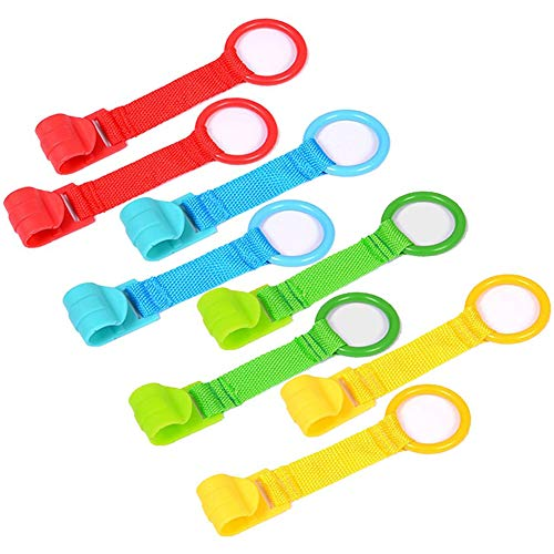 Baby Hand Ring Kinderbett - WENTS 8PCS Ringe für...