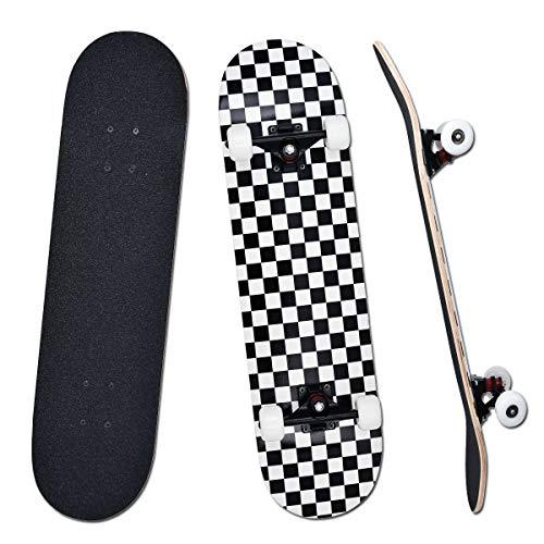 YUDOXN Komplettes Skateboard für Anfänger,...