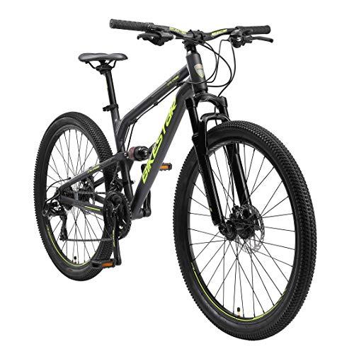 BIKESTAR Fully Aluminium Mountainbike Shimano 21...