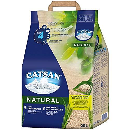 CATSAN Natural – Kompostierbare Klumpstreu für...