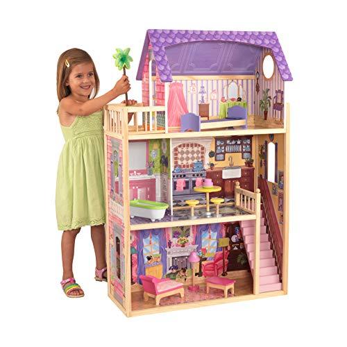 KidKraft 65092 Puppenhaus Kayla aus Holz mit...