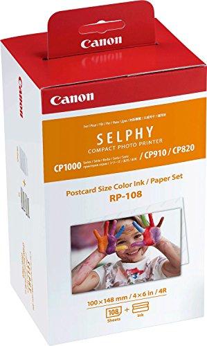Canon RP-108IP Conspack Druckerpapier, Cyan,...