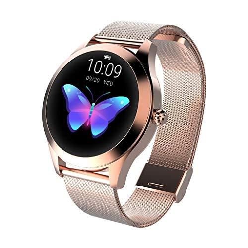 CUEYU Smart Watch KW10,Runder Touchscreen IP68...