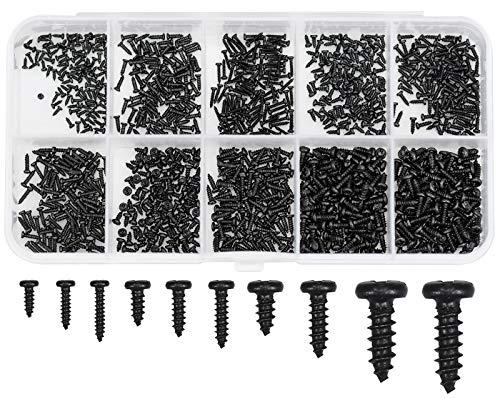 Winfred Micro-Schrauben 1000 Stück Kleine...