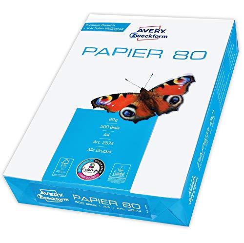 Avery Zweckform 2574 Drucker-/Kopierpapier (500...