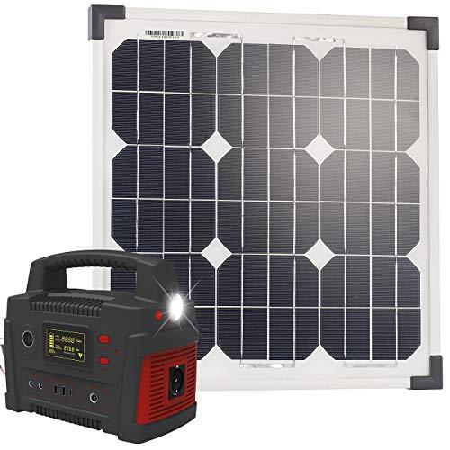 reVolt Solar Generator Camping: Powerbank &...
